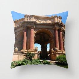 Palace of Fine Arts - Marina District Throw Pillow