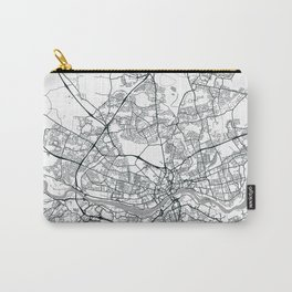 Newcastle Upon Tyne, United Kingdom - City Map Carry-All Pouch