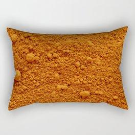 Naranja Absoluto Rectangular Pillow