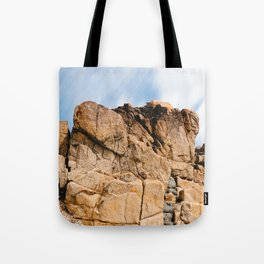 Rocky Landscape  in the coast of Brittany Tote Bag