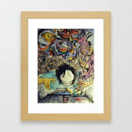 The Cure Framed Art Print