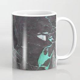 Grey and Blue Marble Coffee Mug