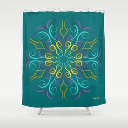 Stronger (Turquesa) Shower Curtain