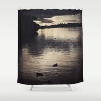 sunrise Shower Curtains featuring Sunrise... by Viviana Gonzalez