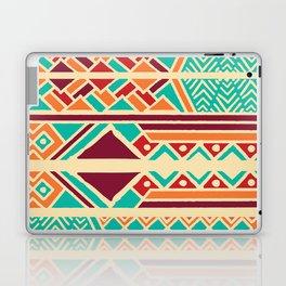 Tribal ethnic geometric pattern 038 Laptop & iPad Skin