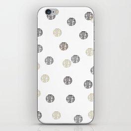 BASKET1 iPhone Skin