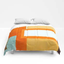 Compose #abstract #painting Comforters