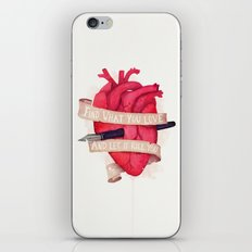 Find What You Love iPhone & iPod Skin