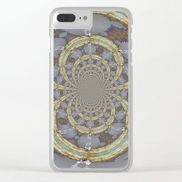 Eternal Friendship Spider Abstract Clear iPhone Case
