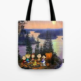 Snoopy and Friend Tote Bag