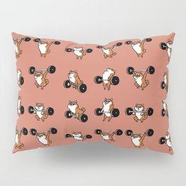 OLYMPIC LIFTING Shiba Inu Pillow Sham