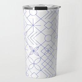 Portuguese Tiles Travel Mug