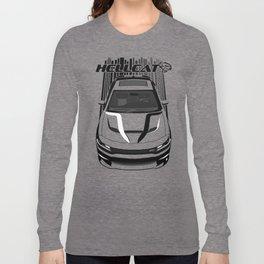 Dodge Charger Hellcat - Dark Transparent/Multi Color Long Sleeve T-shirt