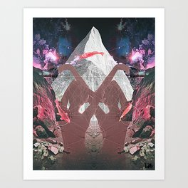 Karma Tw Art Print
