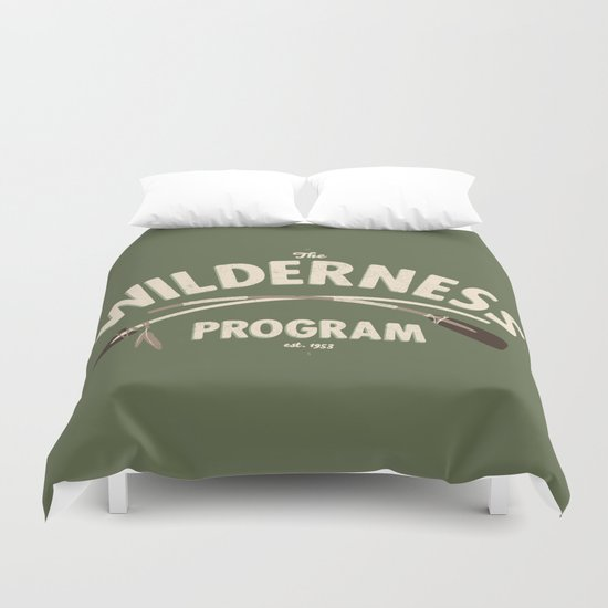 The Wilderness Program Duvet Cover