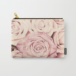 Some people grumble I Floral rose roses flowers garden pink Carry-All Pouch