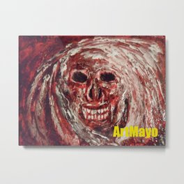 Boogie Man by May'o Metal Print