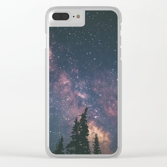 Milky Way II Clear iPhone Case
