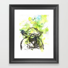 May the Force be with You Yoda Star Wars Framed Art Print