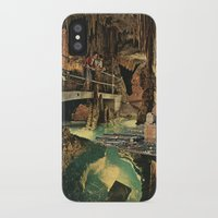 nick cave iPhone & iPod Cases featuring Cave by Sarah Eisenlohr