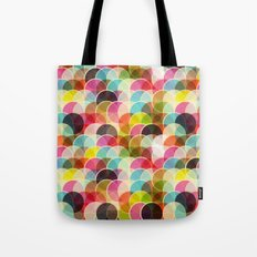Circle Colorful Tote Bag