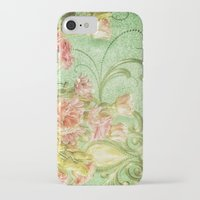 bohemian iPhone & iPod Cases featuring Bohemian Rhapsody Green by Joke Vermeer