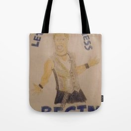 Chris Jericho-Let the Madness Begin. Tote Bag