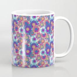 Modern decorative flowers Coffee Mug