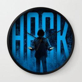 HACK Wall Clock