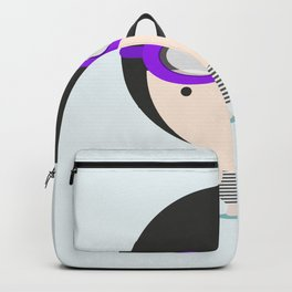 Swimming with unicorn Backpack