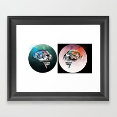 There's Always Two Sides  Framed Art Print