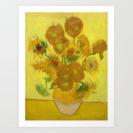 Van Gogh Sunflowers Art Print