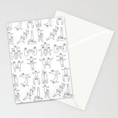 Gymnastic formation Bear Stationery Cards