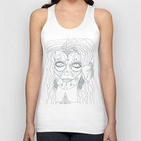 day of the dead Tank Tops featuring Day of the Dead by MTHARU