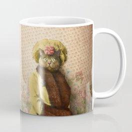 Lady Vanderkat with Roses Coffee Mug