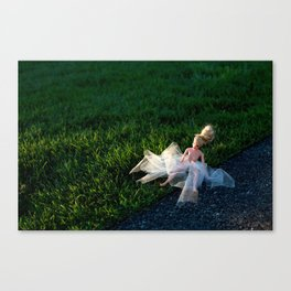 the first time Canvas Print