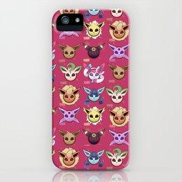Eeveelution Maroon iPhone Case