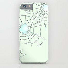 Bullet Holes in Glass iPhone Case