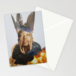 I have seen the future. Stationery Cards