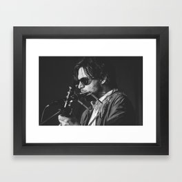 Conor Oberst Framed Art Print