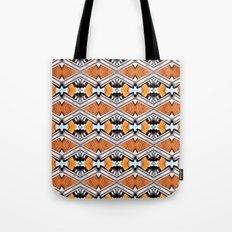 Orange and Neon Tote Bag