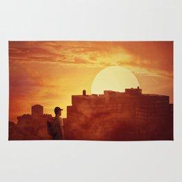 sunset mystery Rug