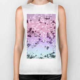 Unicorn Girls Glitter Stars #1 #shiny #pastel #decor #art #society6 Biker Tank