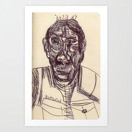 20100405 _YA ESTÁ Art Print