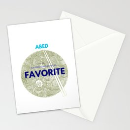 Community ABED Quotes Stationery Cards