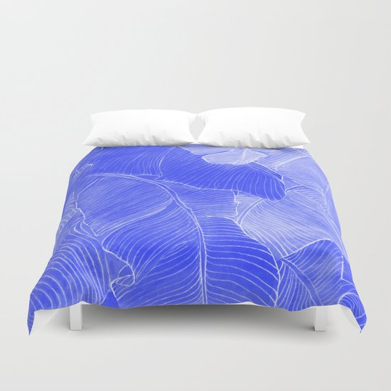 Jungle in the night  Duvet Cover