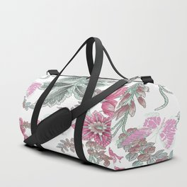 butterfly field red Duffle Bag