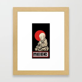 Bless the Meek Buddha Framed Art Print