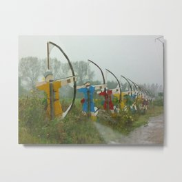 Archers, Agincourt, France Metal Print