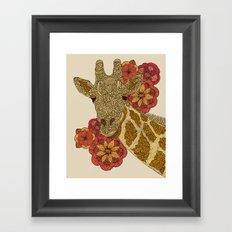 The Giraffe Framed Art Print